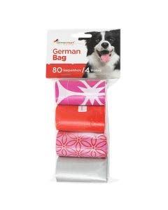 Refil Cata Caca German Hart Floral para Cães e Gatos