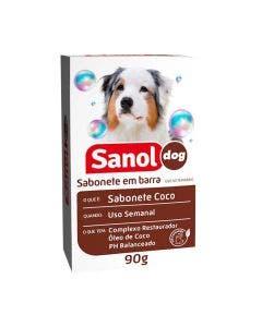 Sabonete Sanol Dog Coco para Cães e Gatos 90g