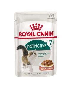 Alimento Úmido Sachê Royal Canin Instinctive Sênior 7+ Gatos Adultos 85g