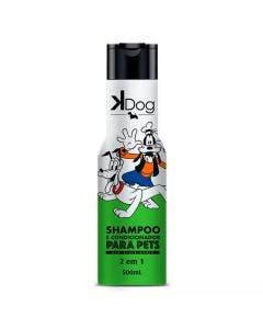 Shampoo e Condicionador K-Dog para Cães e Gatos  2em1  500ml