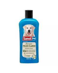Shampoo Sanol Dog Pelos Claros 500mL