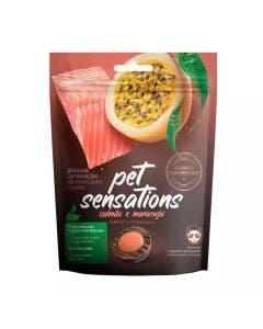 Snack Petitos Pet Sensations para Gatos Sabor Salmão e Maracujá 65g