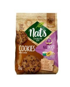 Snack Cookies Nats NatDigest Carne e Cereais Cães 65g