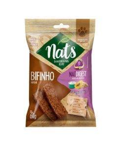 Bifinho Nats NatDigest Iogurte, Mamão e Granola Cães 60g