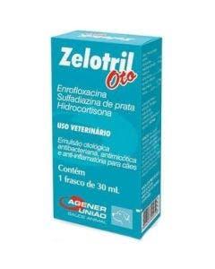 Medicamento Otológico Zelotril OTO 30ml
