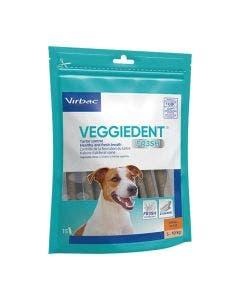 Veggiedent FR3SH Cães Pequenos Virbac - 15 Tiras Mastigáveis