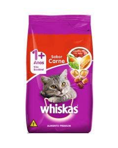 Ração Whiskas Gatos Adultos Carne  1 Kg
