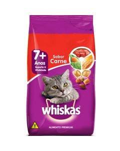 Ração Whiskas Sênior 7+ Gatos Adultos Carne 1 Kg
