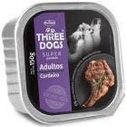 Alimento Úmido Three Dogs Super Premium Cordeiro 150g