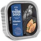 Alimento Úmido Three Dogs Super Premium Filhotes Frango 150g