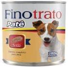 Alimento Úmido FinoTrato Patê Cães Adultos Carne 280g