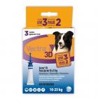 Antipulgas Vectra 3D Cães 10 à 25Kg - 3 Pipetas