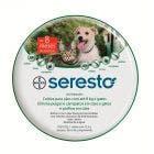 Coleira Seresto Antipulgas e Carrapatos Bayer Cães e Gatos Até 8Kg
